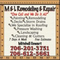 M & L Remodeling And Repair