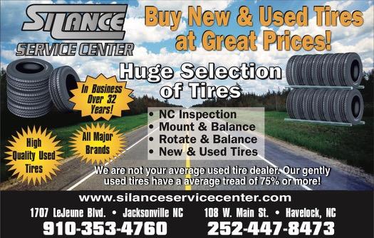 Silance Service Center Havelock Nc 28532