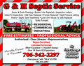G & H Septic Service